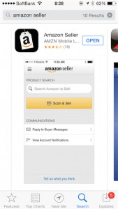 1.Amazon Seller App on Store