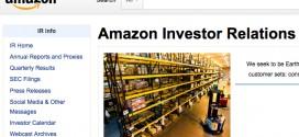 第3四半期決算が大幅に悪化した米アマゾン